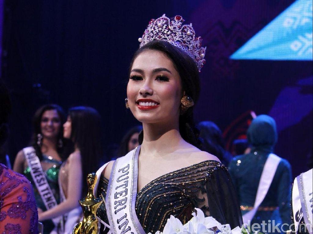 Selamat! Frederika Alexis Raih Mahkota Putri Indonesia 2019