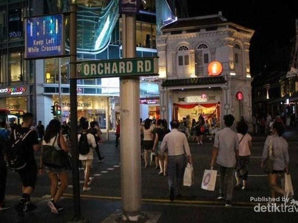Orchard Road, Wisata Malam Singapura yang Tak Pernah Padam