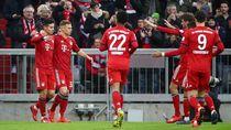 Video Setengah Lusin Gol Bayern ke Gawang Wolfsburg