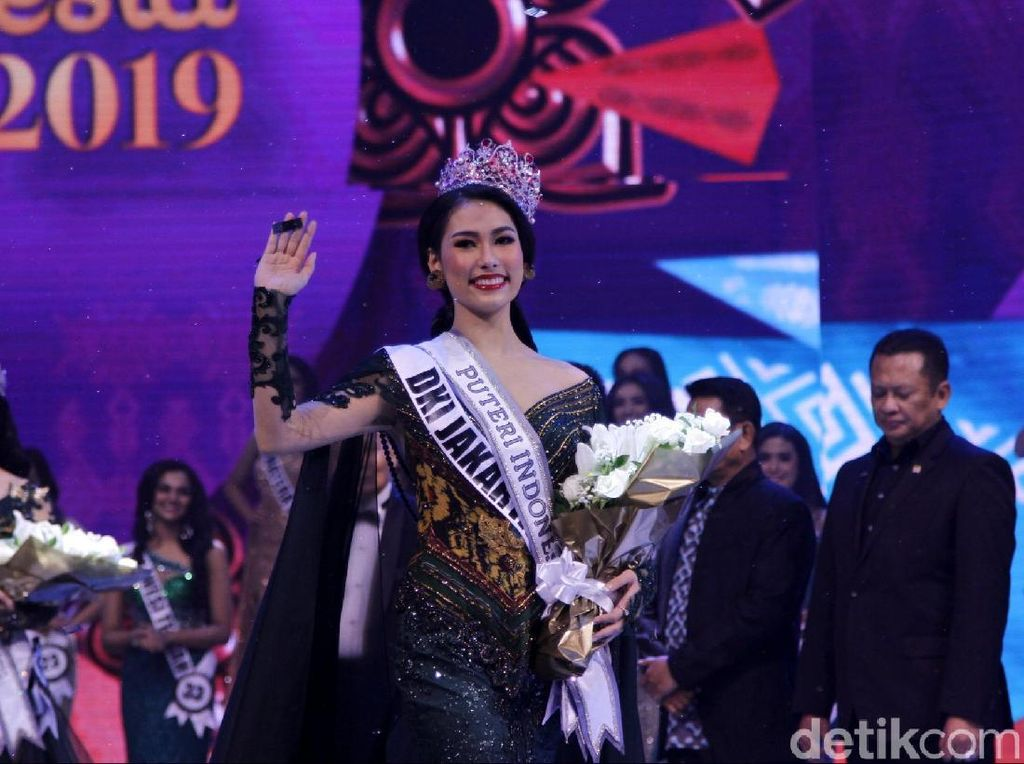 Kata Juara Puteri Indonesia 2019 Frederika Alexis tentang Kemenangannya