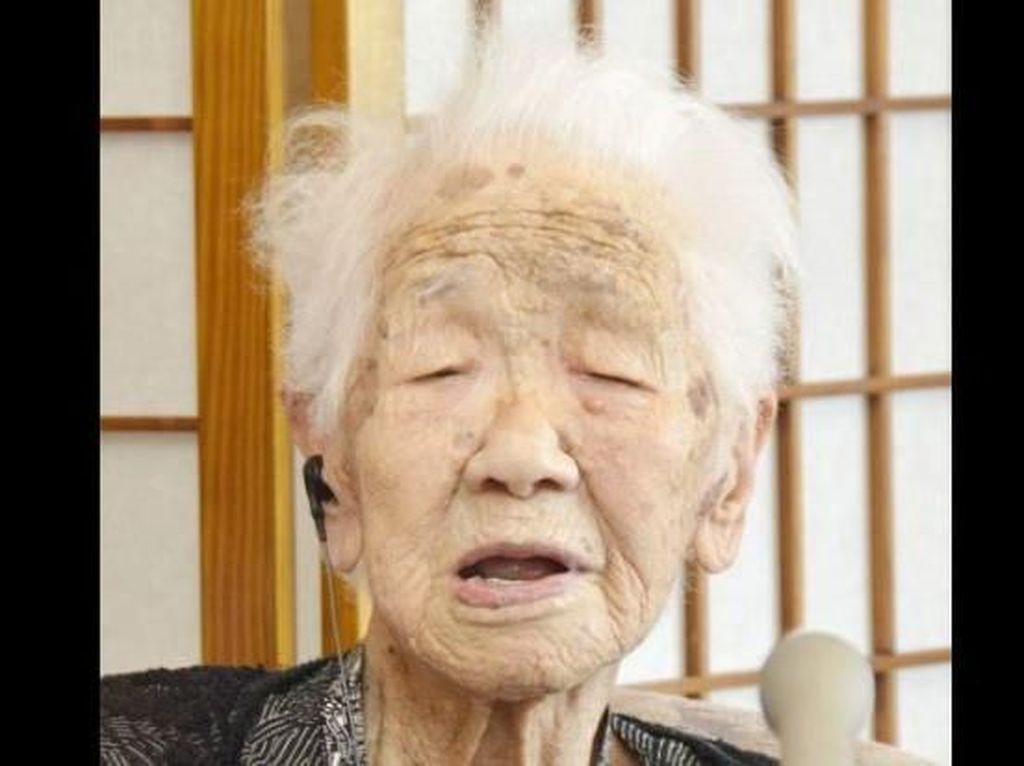 Wanita Jepang Umur 116 Tahun Dinobatkan Jadi Manusia Tertua di Dunia