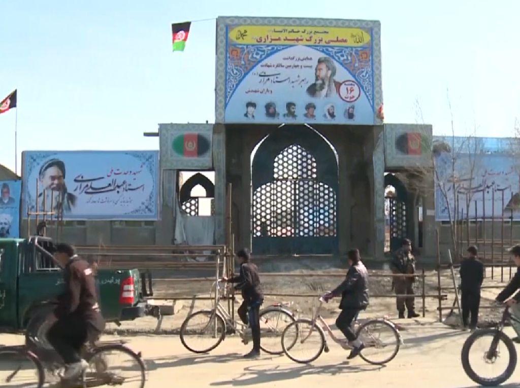 Masjid di Afghanistan Dimortir, 3 Orang Tewas