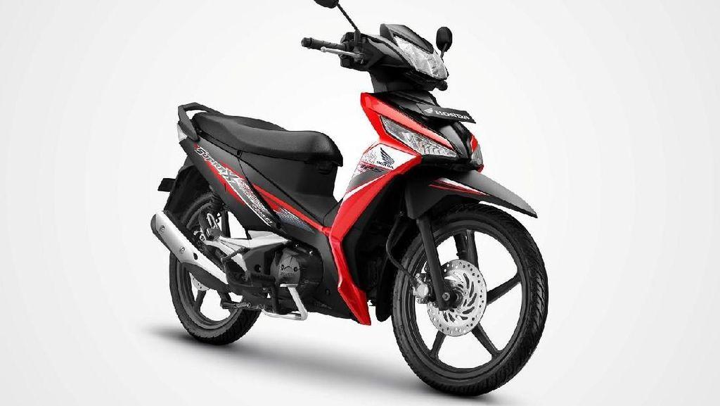 Warna Baru Honda Supra X 125