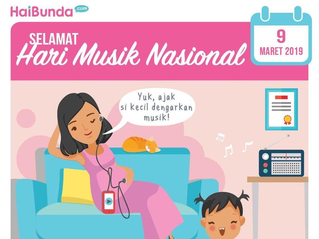 Bunda, Yuk Ajak Si Kecil Dengarkan Musik Sejak di Kandungan