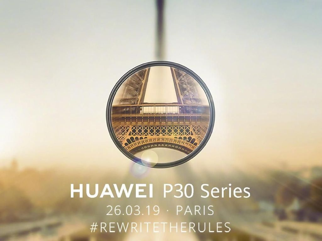 Cara Nonton Live Streaming Peluncuran Huawei P30