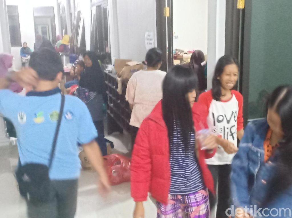 Banjir di Madiun Surut, Ribuan Pengungsi Pulang ke Rumahnya