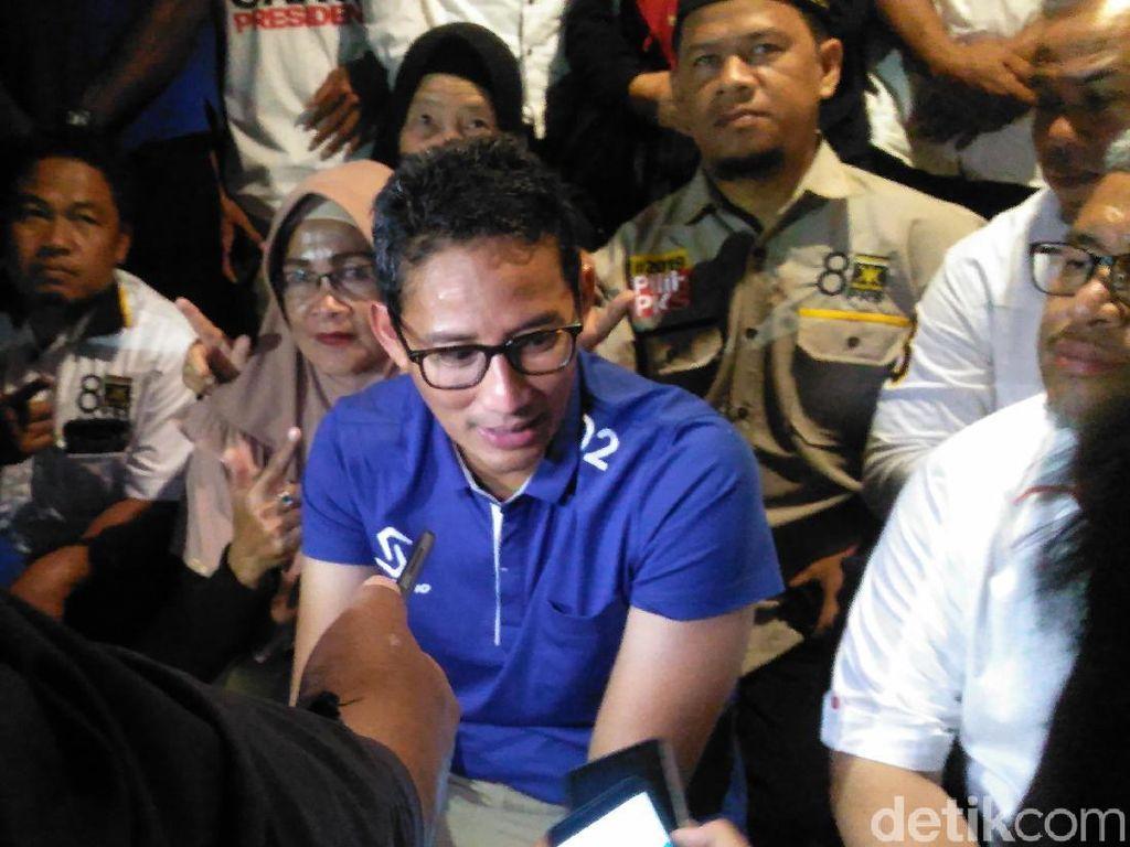 Sandiaga Minta Semua Pihak Hargai FBR yang Kini Dukung Jokowi