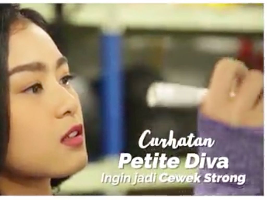 Video: Tabah Di-bully, Diva Bangga Jadi Wanita Berotot
