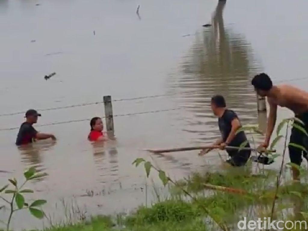 Keluarga yang Diselamatkan dari Banjir Tol Ngawi Ingin Bertemu Aiptu Sujadi