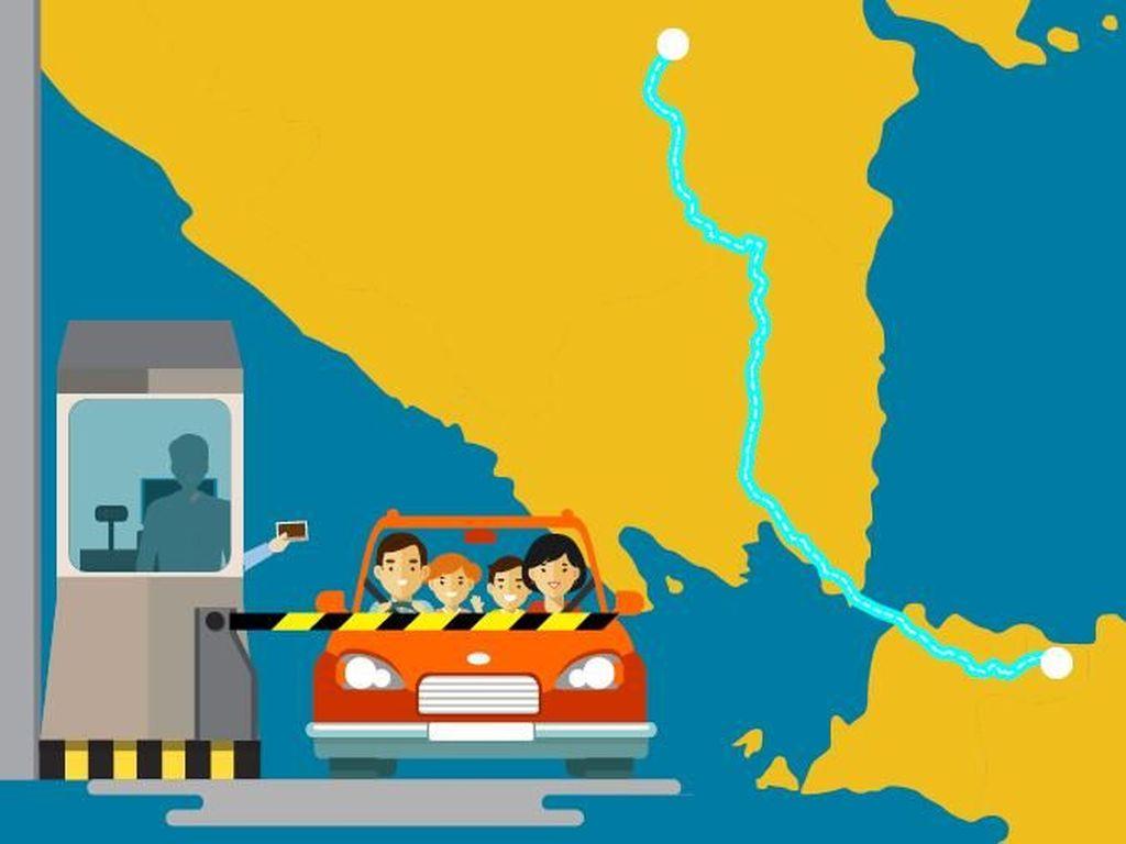 Mudik Lebaran Bisa Lewat Tol Jakarta-Palembang, Berapa Tarifnya?