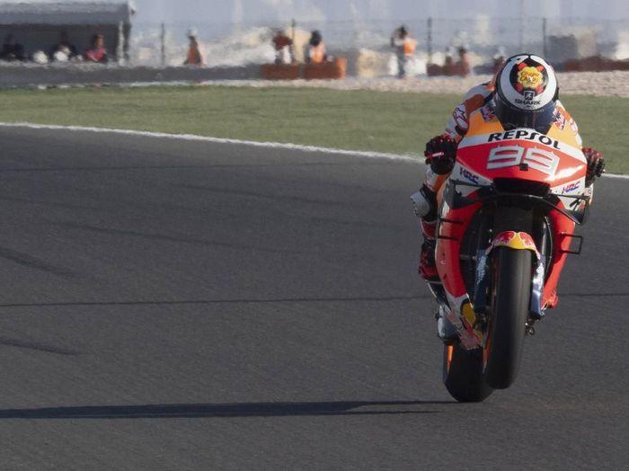 Rider Honda, Jorge Lorenzo. (Foto: Mirco Lazzari gp/Getty Images)
