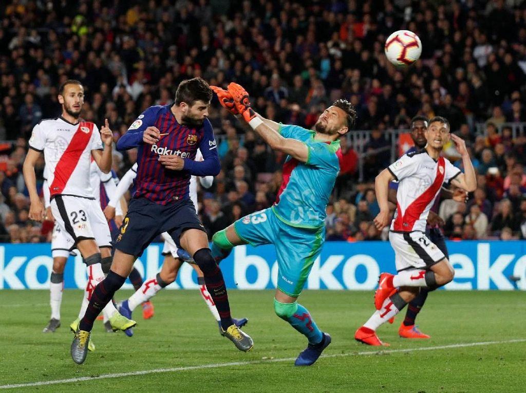 Lyon Menanti, Laga Melawan Rayo Jadi Terasa Rumit untuk Barcelona