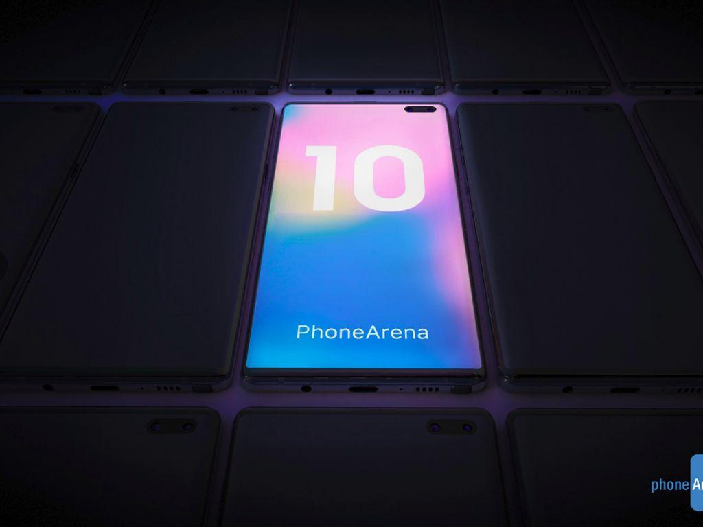 Gambaran Kecantikan Galaxy Note 10