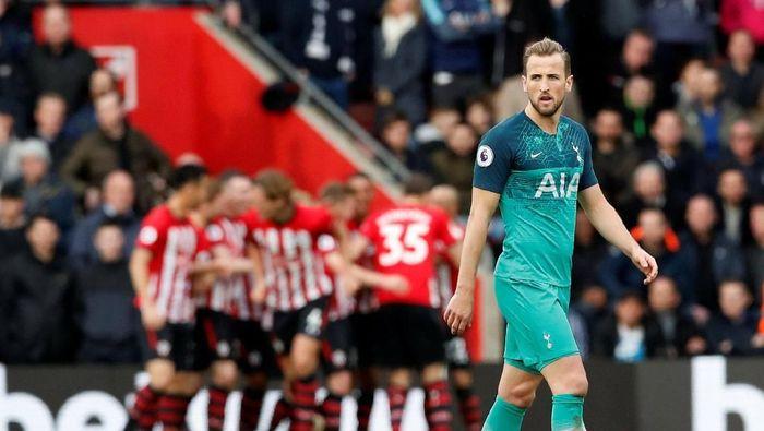 Harry Kane menatap pekan-pekan terakhir di Tottenham musim ini.  Foto: David Klein/REUTERS