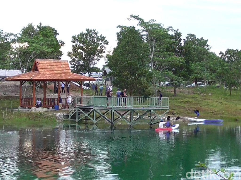 Foto: Bekas Tambang Disulap Jadi Tempat Wisata di Bangka