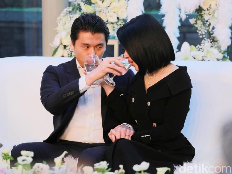 Syahrini Dituding Rebut Reino dari Luna, Christine Hakim: Netizen Tak Boleh Gitu!