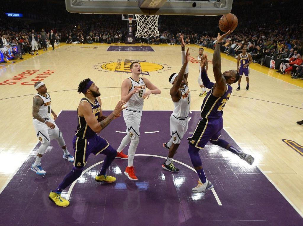 Kalah Lima Kali Beruntun, Lakers Makin Sulit ke Playoff