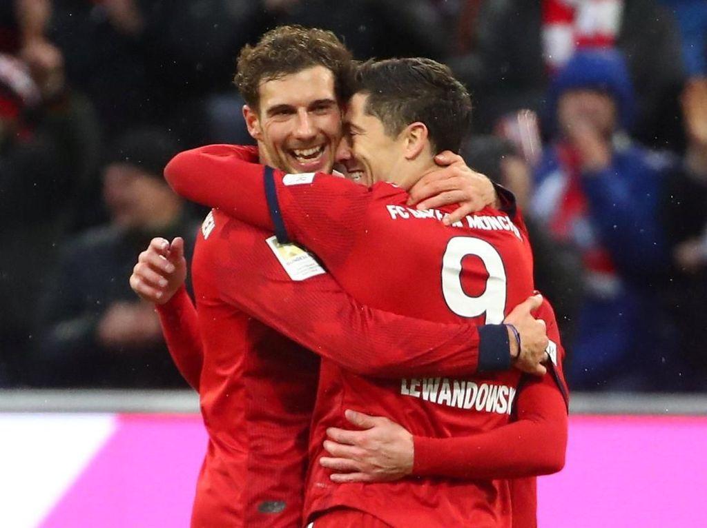 Lewandowski Pemain Asing Tersubur di Bundesliga