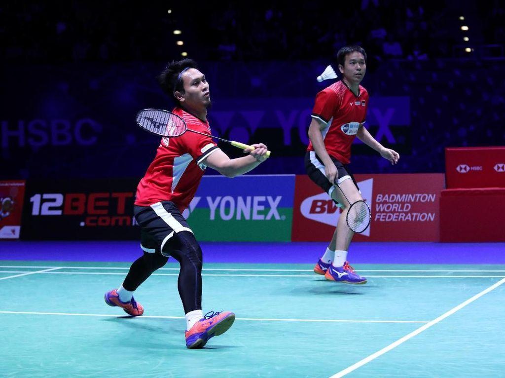 Hasil All England: Ahsan/Hendra Jadi Satu-Satunya Wakil Indonesia di Final