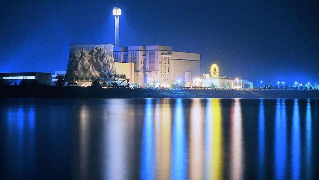 Dulunya Pembangkit Nuklir, Kini Jadi Taman Hiburan Keren
