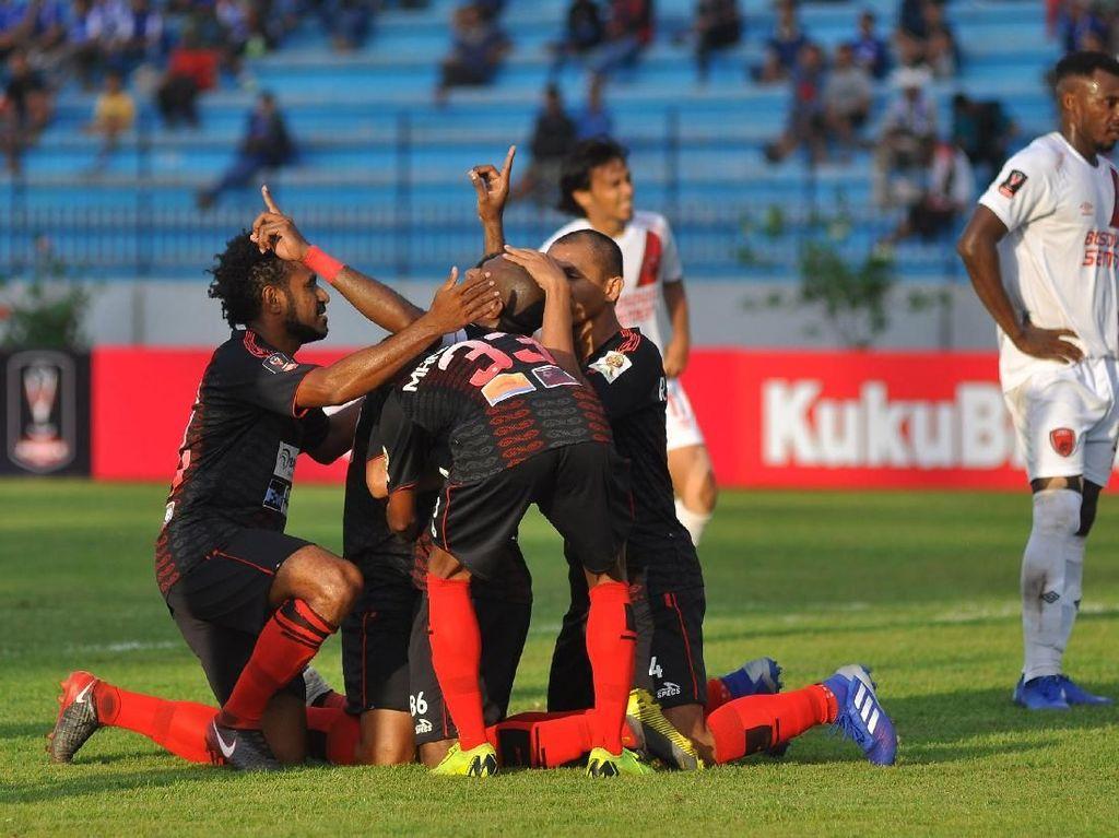 Dua Calon Lawan Persipura pada Play-off Piala AFC 2021