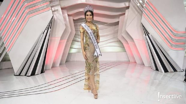Frederika Alexis Cull, Puteri Indonesia 2019