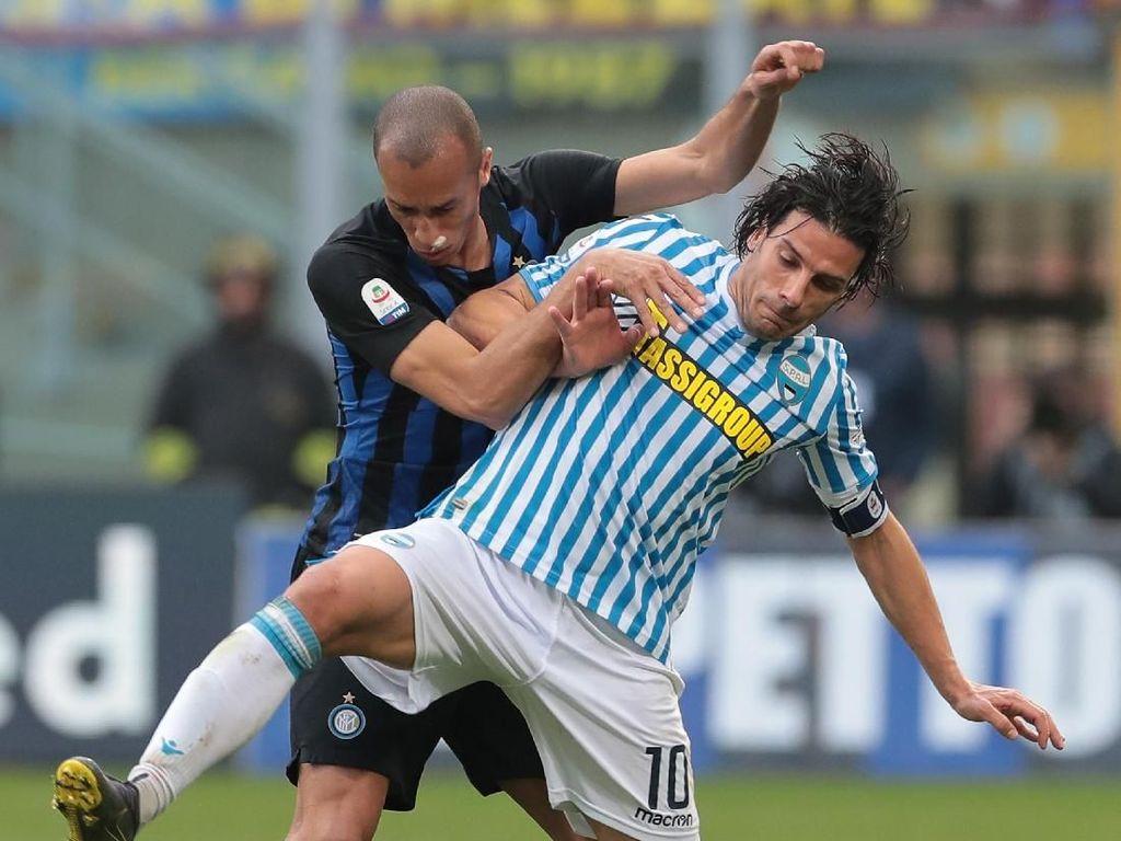 Hasil Liga Italia: Inter Milan Akhir Periode Buruk, Taklukkan SPAL 2-0