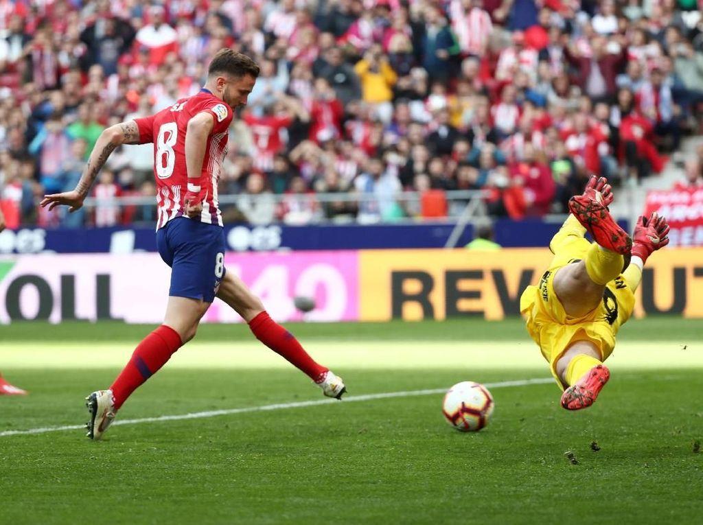 Hasil Liga Spanyol: Saul Niguez Menangkan Atletico Atas Leganes