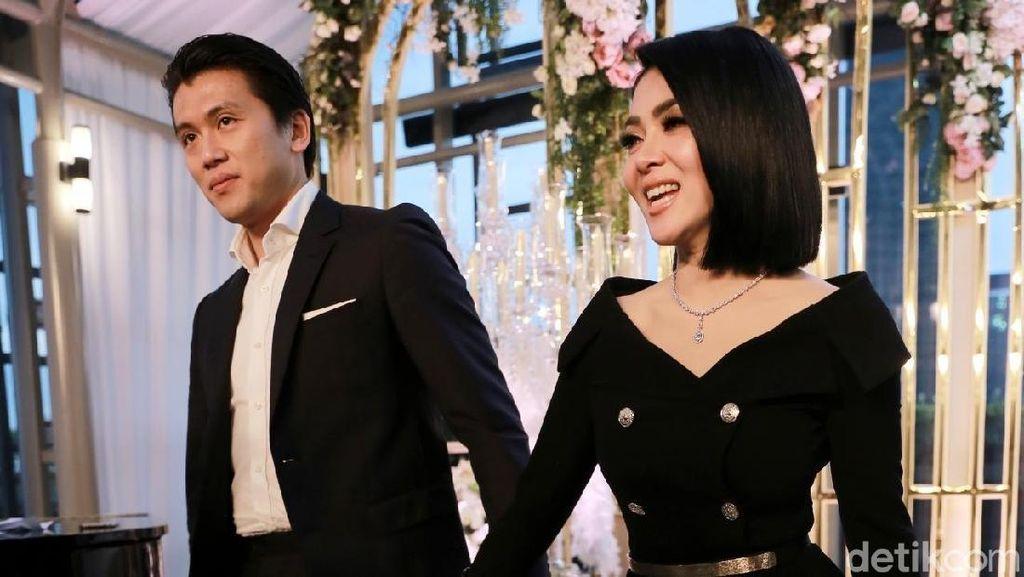 Foto: Penampilan Syahrini Usai Menikah Mirip dengan Meghan Markle