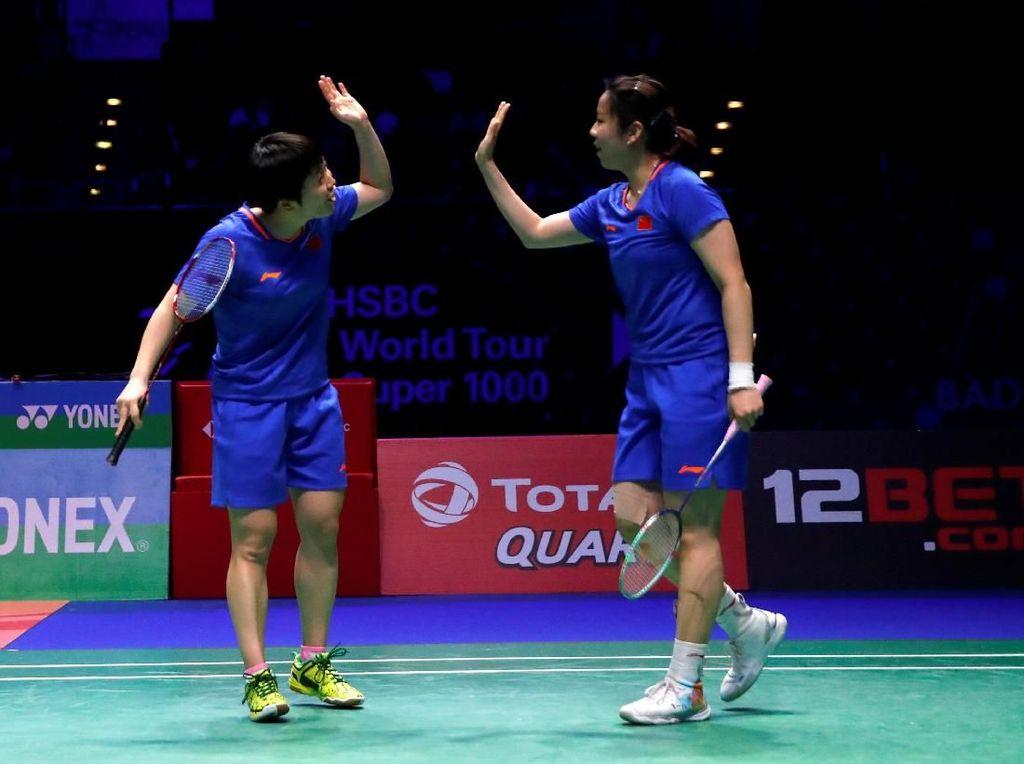 Kalahkan Ganda Putri Jepang, Chen Qingchen/Jia Yifan Juara All England