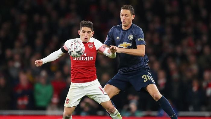 Arsenal Tumbangkan Man United