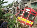 Penyebab Tergulingnya KRL di Bogor Masih Misterius