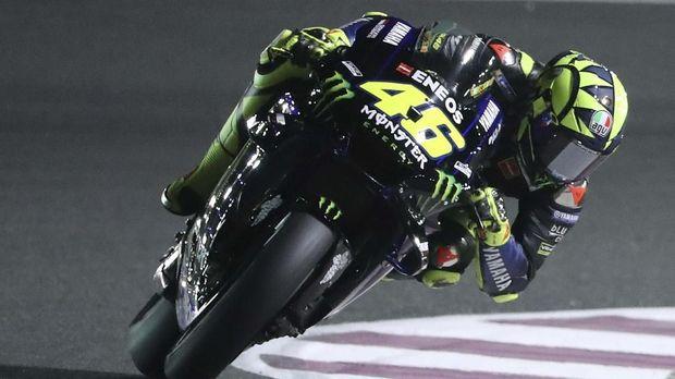 Rossi: Saya Tidak Cukup Kuat Masuk Podium MotoGP Qatar 2019