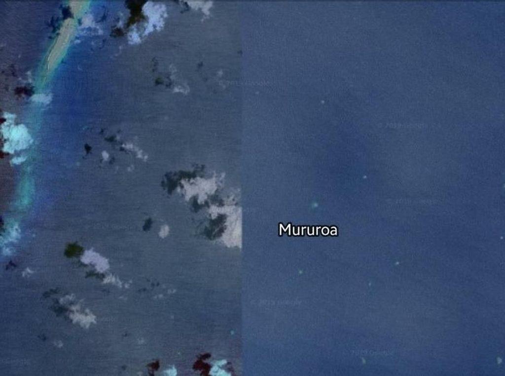 Misteri Pulau yang Wujudnya Kena Blur Separuh di Google Maps