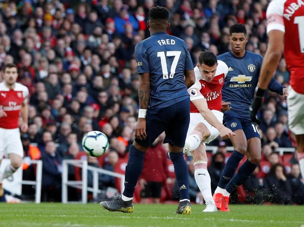 Head to Head Manchester United Vs Arsenal