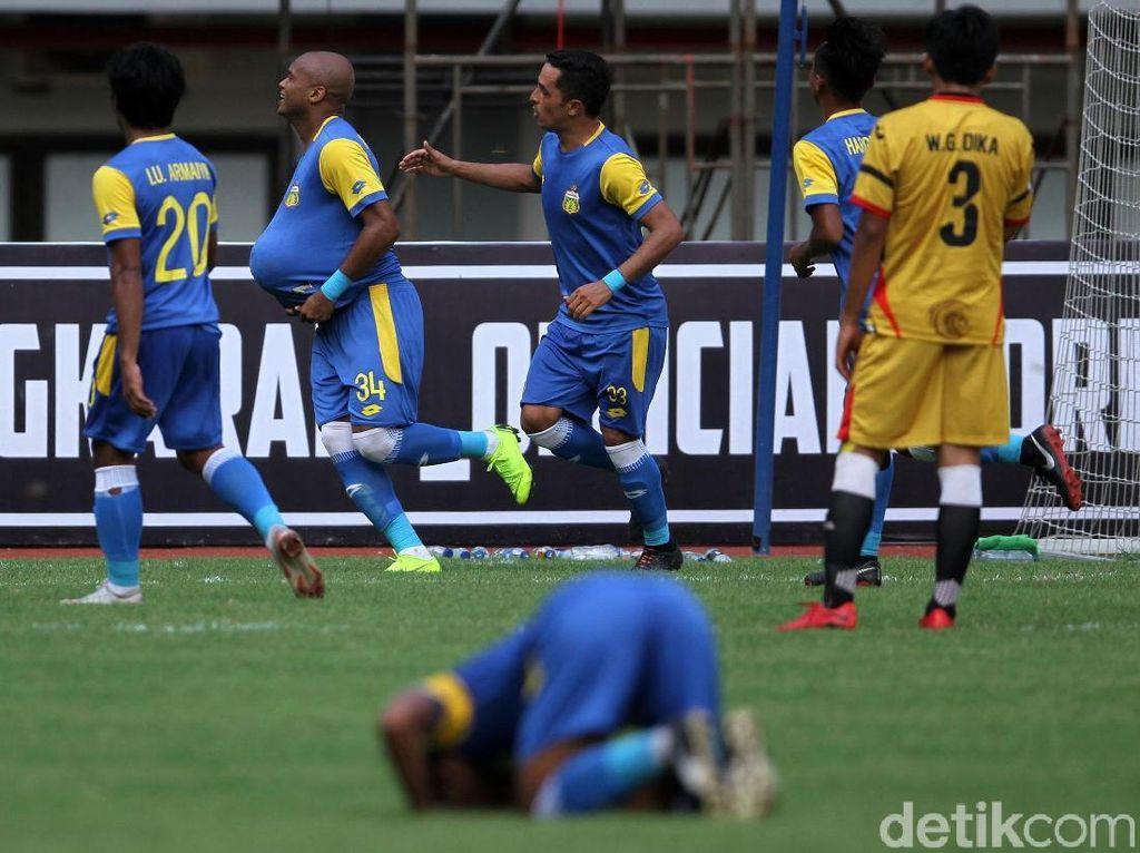 Selebrasi Hamil Anderson Salles Warnai Kemenangan Bhayangkara FC