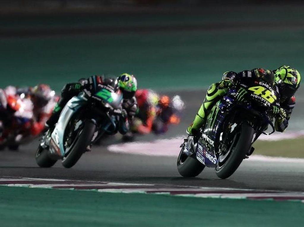 Kunci Rossi Bisa Balapan dari Posisi 14 dan Finish Kelima