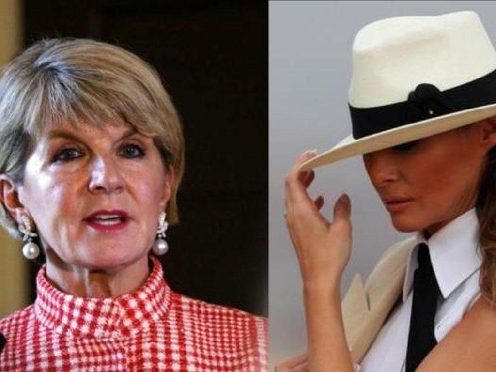 Melania Trump Pernah Kira Julie Bishop adalah Istri dari Menteri Luar Negeri Australia