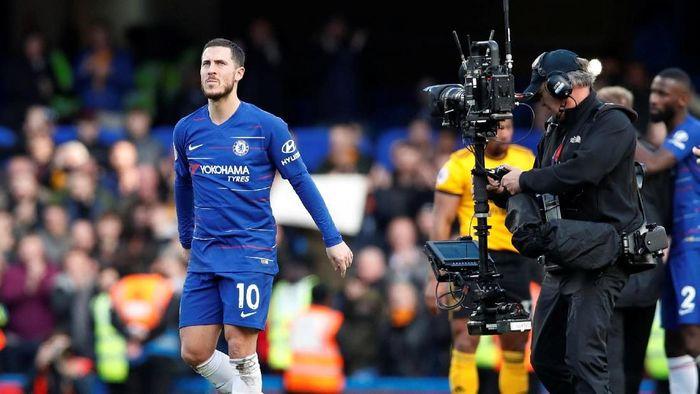Real Madrid dikabarkan sudah mengajukan penawaran pertama ke Chelsea untuk mendapatkan Eden Hazard (Foto: David Klein/Reuters)