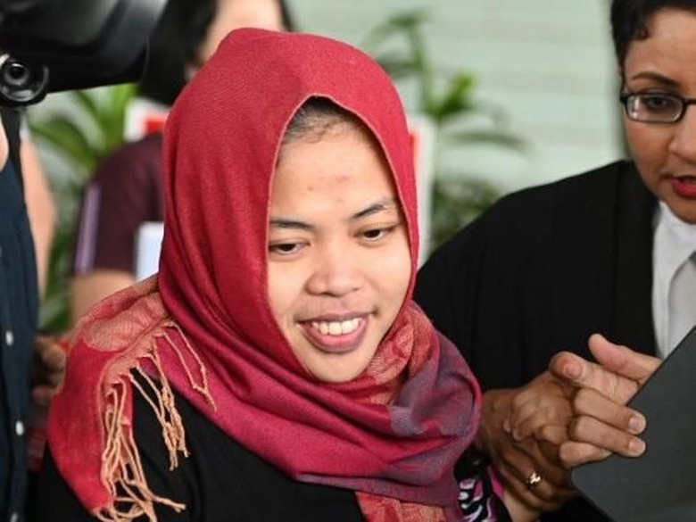 Lika Liku Siti Aisyah, dari Bekap Mati Kim Jong-Nam hingga Dibebaskan