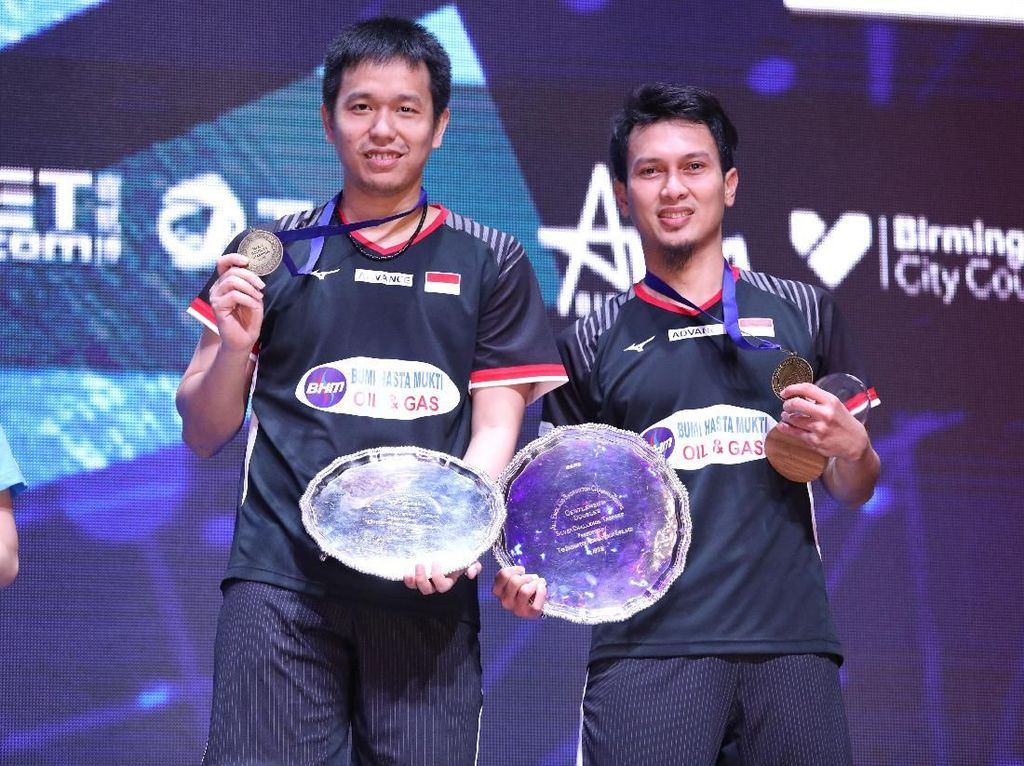 Mohammad Ahsan: Gelar Juara All England untuk Rakyat Indonesia