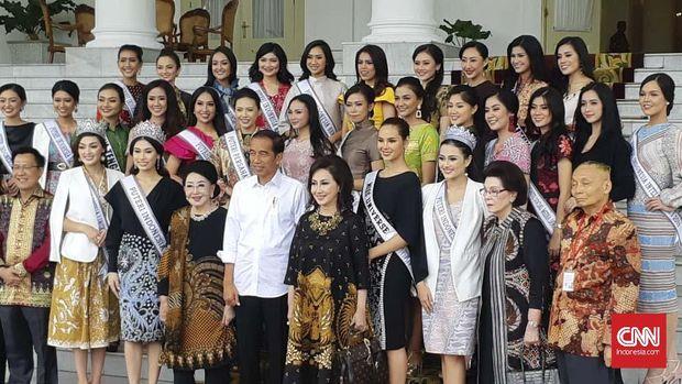 Puteri Indonesia Sebut Jokowi Ingin Ada Menteri Usia 25 Tahun