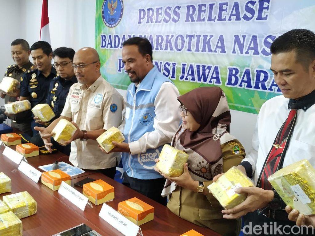 Penyelundup Sabu 20 Kg Dipelototi CCTV di Rutan Kebonwaru Bandung