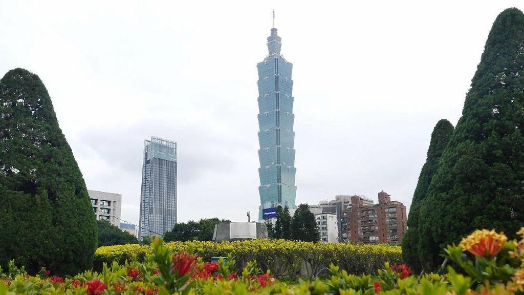 Foto: Gedung Tertinggi Dunia yang Jadi Ikon Taiwan