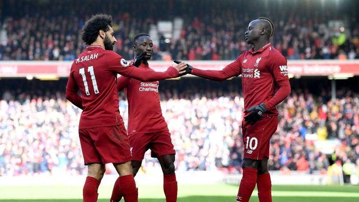 Liverpool berpeluang menyalip Manchester City di klasemen Liga Inggris akhir pekan ini. (Foto: Michael Regan/Getty Images)