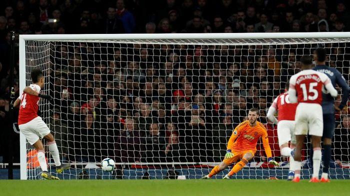 Arsenal menang 2-0 atas Manchester United. (Foto: John Sibley/Reuters)