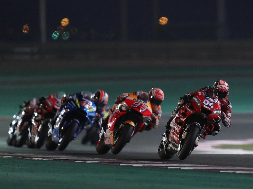 Dovizioso dan Marquez Kembali Sajikan Balapan yang Seru
