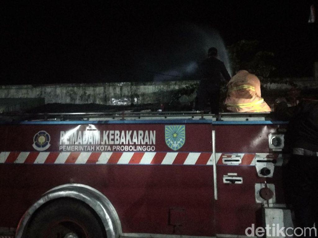 Pasar di Probolinggo Terbakar, Api Diduga dari Kompor Warung Makan