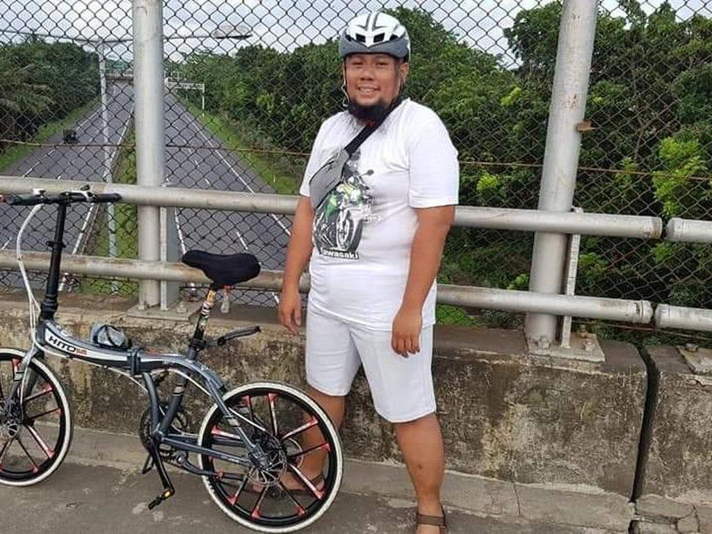 Putra Hakim Agung yang Meninggal Saat Gowes Sepeda Dikenal Sederhana