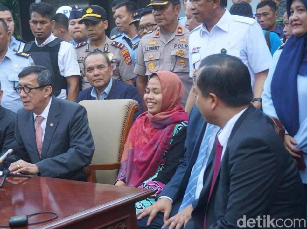 Kembali ke Indonesia, Siti Aisyah Tak Sabar Bertemu Keluarga